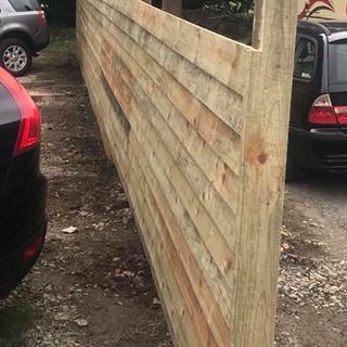 6x1 overlap fencing 1