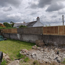 fencing panel job completed 2