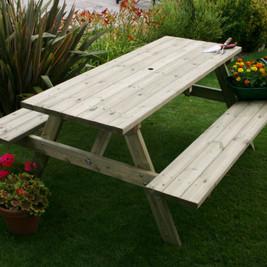 WYE picnic table