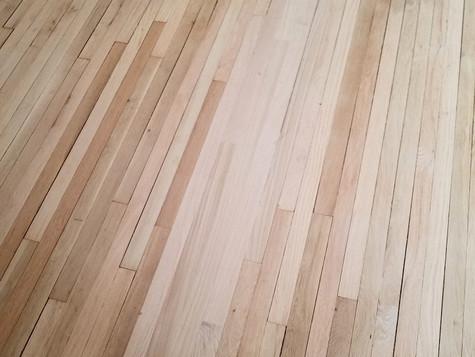 Repair, Sand & Refinsh Red Oak Floor