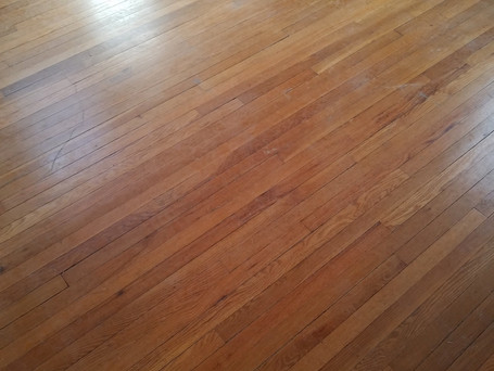 Sand & Refinsh Red Oak Floor