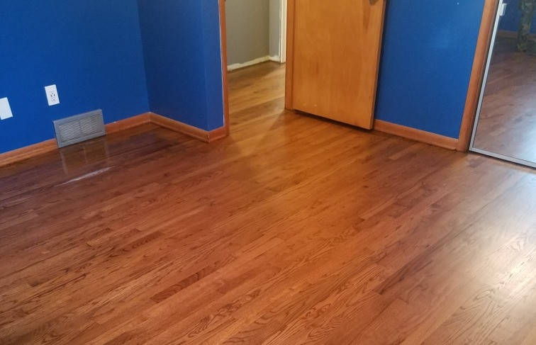 Sand & Refinsh Red Oak Floor