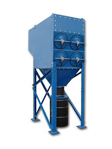 dust collection systems, powder processing