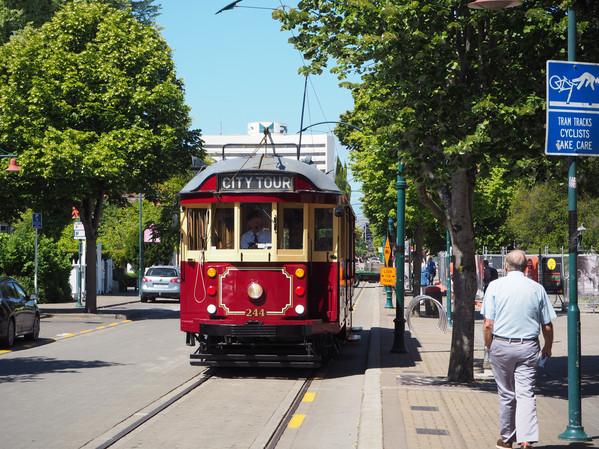 Christchurch Vintage Tram