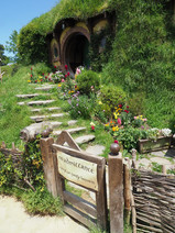 Hobbiton Movie Set - Bilbo's House