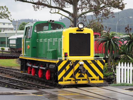 Bay of Islands Vintage Railway at Kawakawa