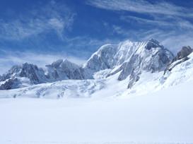 Plateau above Fox Glacier