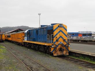 Diesel Locomotive, Dunedin Station