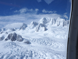 Fox Glacier from Helicopter