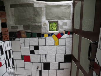 Hundertwasser Public Toilets, Kawakawa, Bay of Islands
