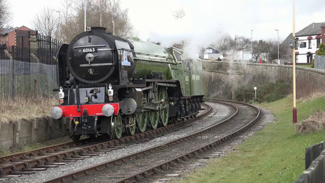 Tornado and a Crab on the East Lancs
