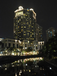Grand Copthorne Hotel, Singapore at night