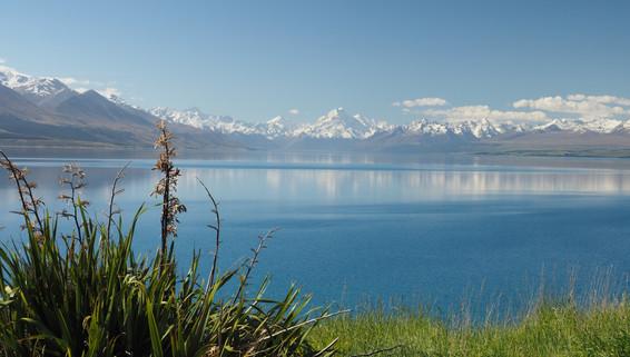 Mount Cook reflected in Lake Pukaki