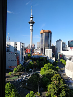 Sky Tower, Auckland from Grand Millennium Hotel