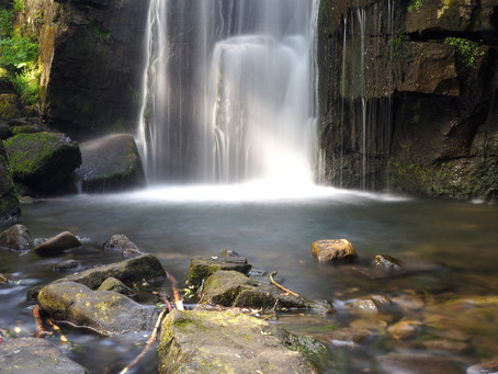 Lumsdale Waterfall