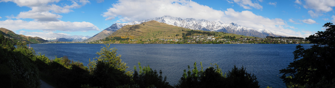 The Remarkables, and Lake Wakatipu, Queenstown