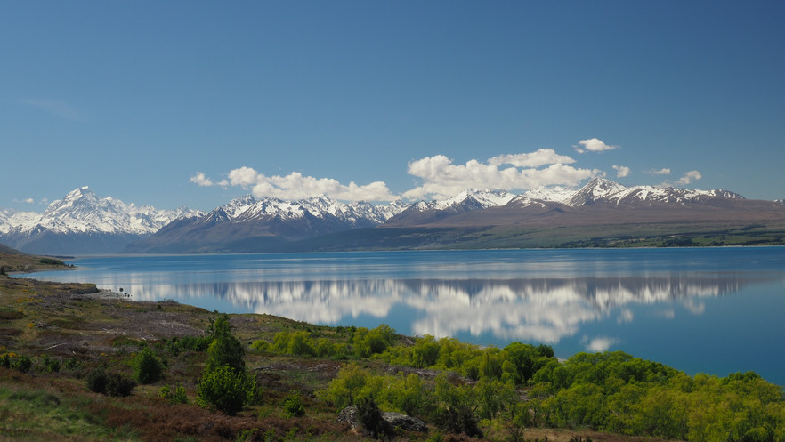 Reflections near Mount Cook