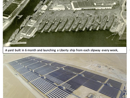 Yes we can do an energy transition within 5 to 10 years