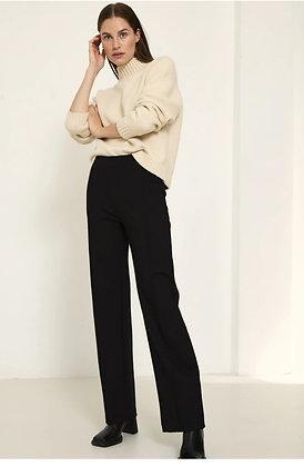 Knit-ted  pants Fleur black