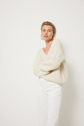 Knit-ted Pullover Ivory