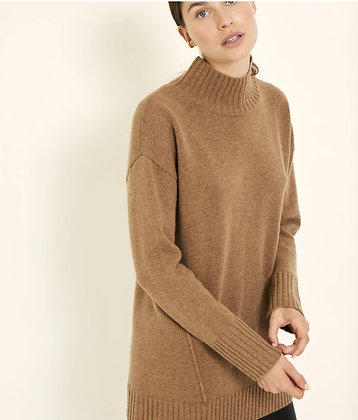 Knit-ted Pullover Mocca Fleur