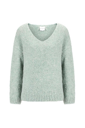 Knit-ted Pullover frost