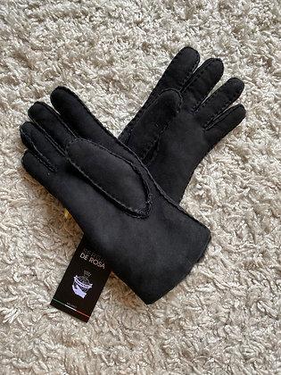 Sergio De Rosa leren handschoen