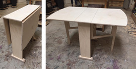 Birch Ply Drop Leaf Table.jpg