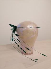 Federheadpiece - grün