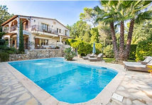 Villa swimming pool French Riviera