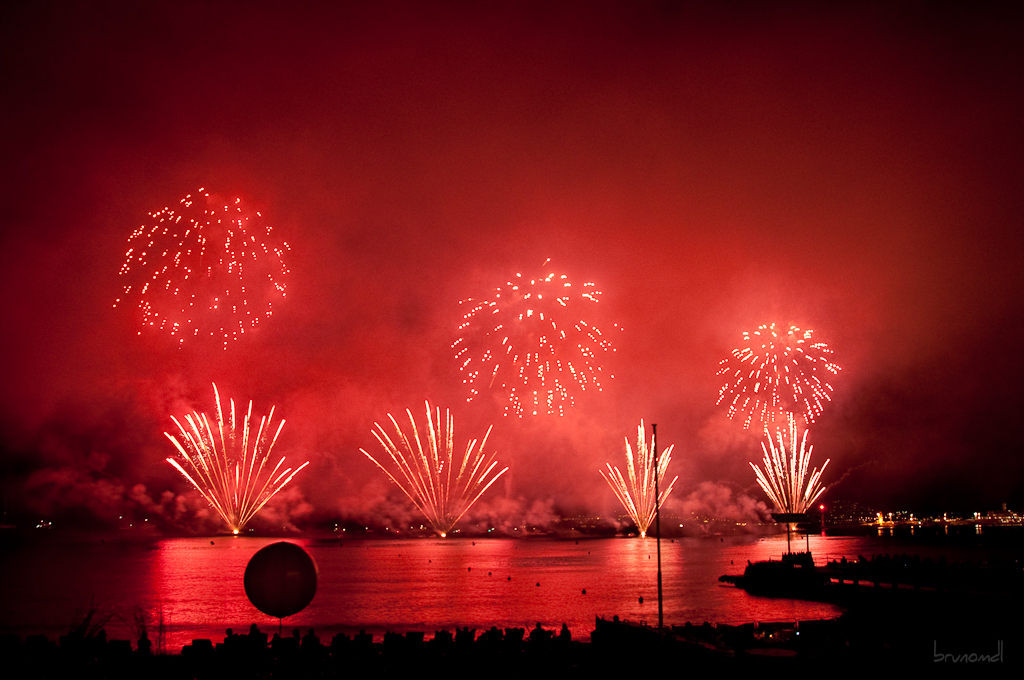 Cannes Fireworks French Riviera