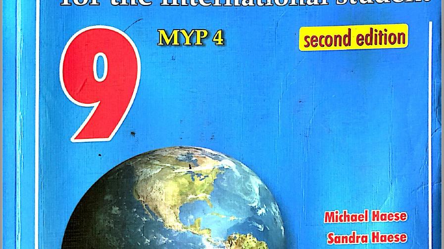 Mathematics for the International Student (MYP 4)