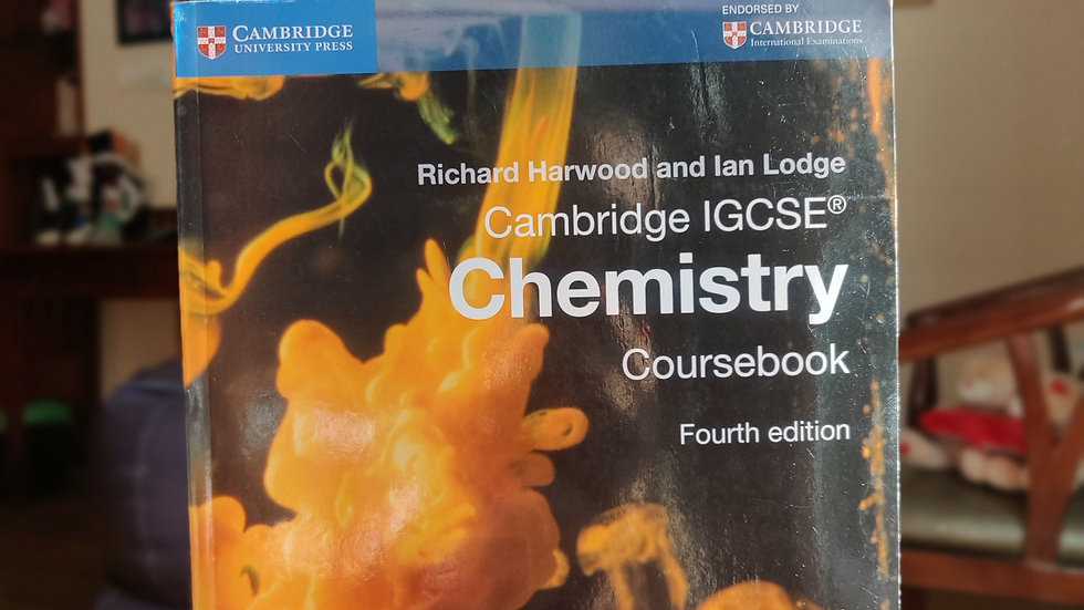 Cambridge IGCSE: Chemistry