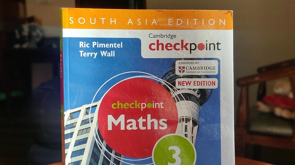 Cambridge Checkpoint: Maths 3