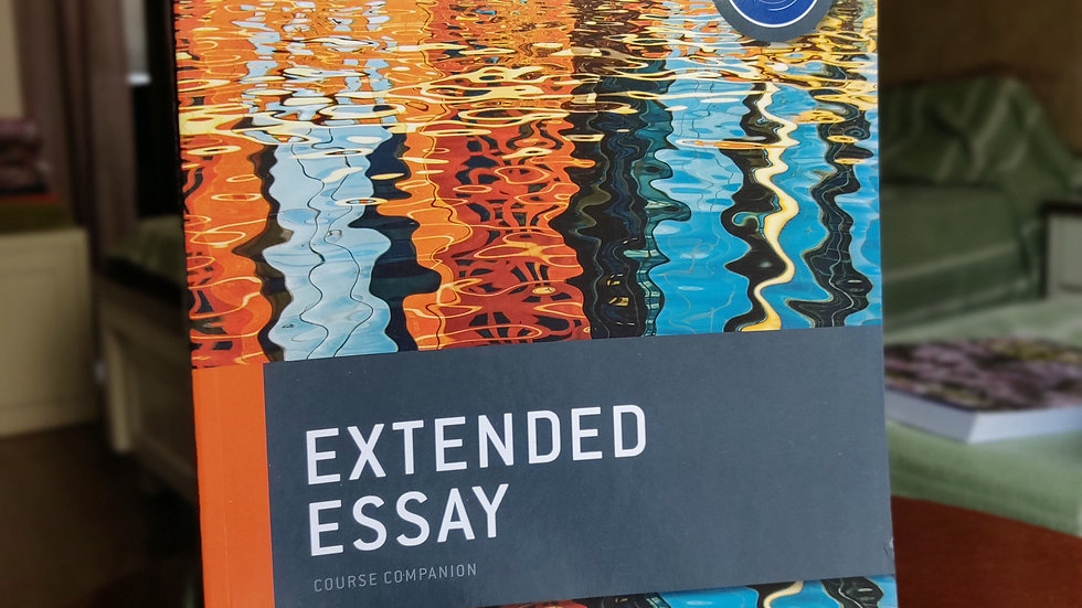 Oxford IBDP: Extended Essay