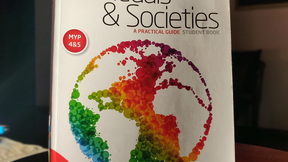 MYP 4&5: Individuals & Societies