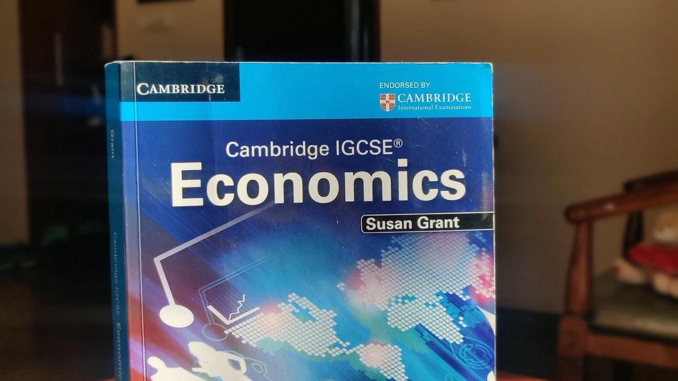 Cambridge IGCSE: Economics