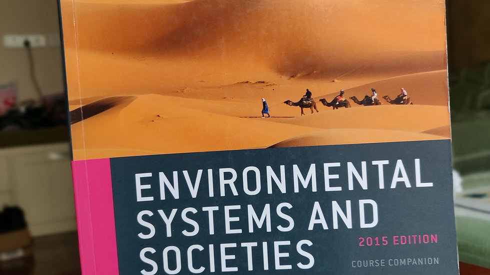 Oxford IBDP: Environmental Systems and Societies