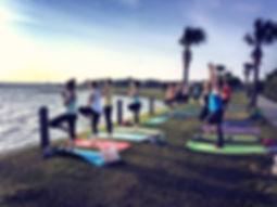 Beach Yoga, Wedding Yoga, Bachelorette Yoga, Birthday Yoga - Charleston, Sullivan's Island, Isle of Palms, Folly Beach, SC
