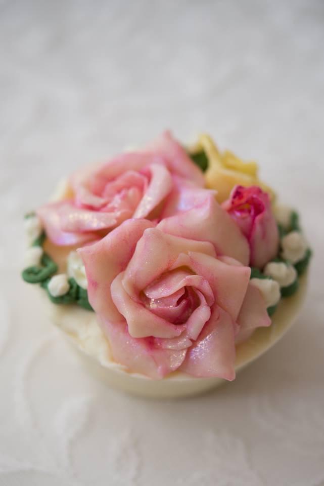 Roses cupcake Nov 2017