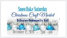 Snowflake Saturday Christmas Craft Market 2020
