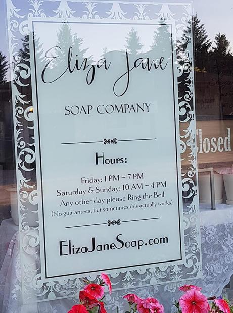 eliza jane soap company hours