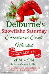 Snowflake Saturday Christmas Craft Market 2019