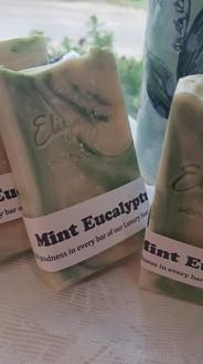 Mint Eucalyptus soap
