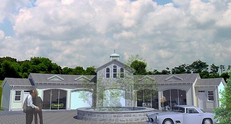 Mcadam Design Linton House Show Garage