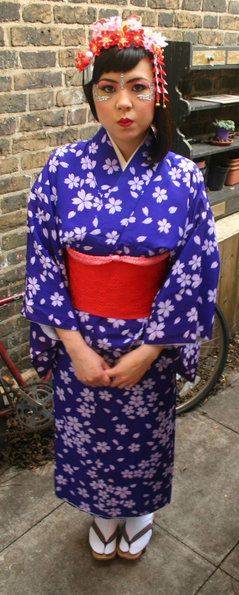 Our Japanese geisha model