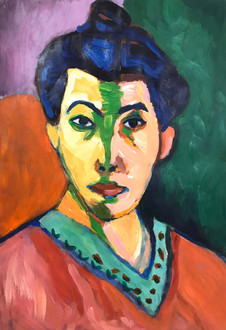 By 13 year old Robin after Matisse