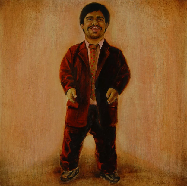 Nash. Oil on linen. 50 x 50 cm. 2009.