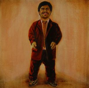 Nash. Oil on linen. 50 x 50 cm. 2009.