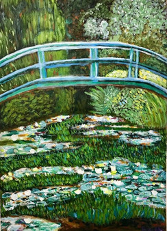 By 11 year old Beth, after Monet.
